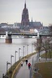 Cityscape of Frankfurt Stock Image