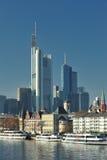 Wonderful city of Frankfurt Stock Photos