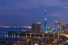 Cityscape of Fukuoka in north Kyushu, Japan Stock Photography