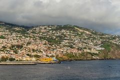 Cityscape of Funchal, Madeira Island, Portugal Royalty Free Stock Photo