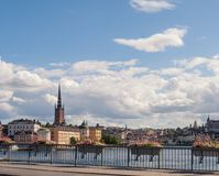 Cityscape of Gamla stan, the old town in Stockholm, Sweden. Cityscape of Gamla stan, the old town in central Stockholm, Sweden stock photo