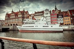 Cityscape of Gdansk Stock Images