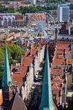Cityscape of Gdansk, Poland Royalty Free Stock Image