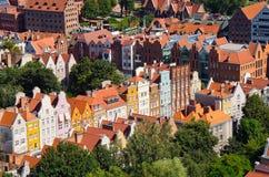 Cityscape of Gdansk, Poland Royalty Free Stock Photo