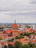 Cityscape of Gdansk, Poland Stock Photo