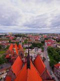 Cityscape of Gdansk, Poland Royalty Free Stock Image