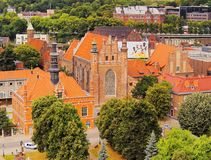 Cityscape of Gdansk, Poland Stock Image