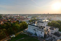 Cityscape from Gediminas tower. Vilnius. Lithuania Stock Image