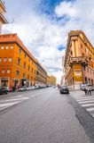 Cityscape and generic architecture from Rome, the Italian capital stock photo