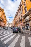 Cityscape and generic architecture from Rome, the Italian capital stock image