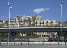 Cityscape, Genoa, Italy Stock Photos