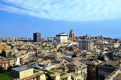 Cityscape of Genoa Stock Photography