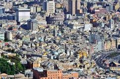 Cityscape of Genoa Royalty Free Stock Image