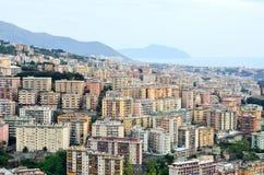 Cityscape of Genoa Royalty Free Stock Photos