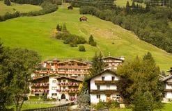 Cityscape Gerlos Austria stock photo