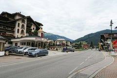 Cityscape of Gerlos in Tirol Austria Royalty Free Stock Image