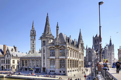 Cityscape. Ghent Stock Photo
