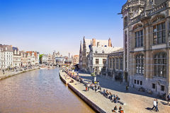 Cityscape. Ghent Stock Image