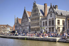 Cityscape. Ghent Stock Photography