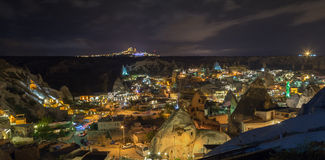 The cityscape of Goreme, Turkey Stock Photography