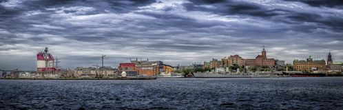 Cityscape of gothenburg royalty free stock images