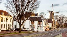 Cityscape Gouda Holland Stock Photo