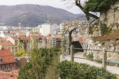 Cityscape Graz Österrike Arkivbild