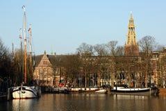 cityscape Groningen Imagem de Stock