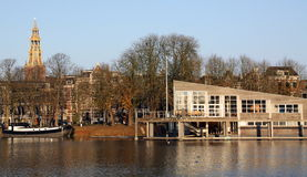 cityscape Groningen Fotografia de Stock