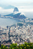 Cityscape of Guanabara Bay Royalty Free Stock Photography