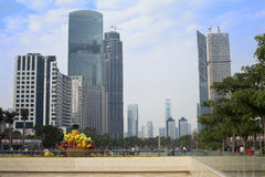 Cityscape of Guangzhou Stock Images