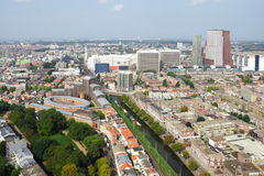 Cityscape of The Hague royalty free stock images