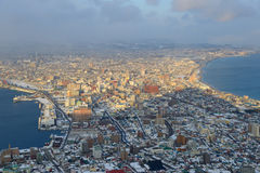 Cityscape of Hakodate Royalty Free Stock Photography