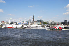 Cityscape of Hamburg Stock Photography