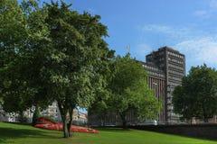 Cityscape of Hamburg Royalty Free Stock Images