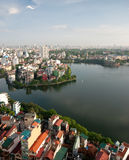 Cityscape of Hanoi in Vietnam Royalty Free Stock Photo