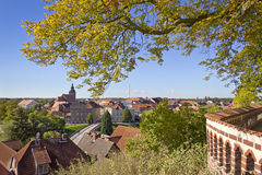 Cityscape of Havelberg Stock Photo