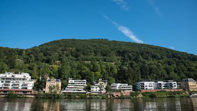 Cityscape of Heidelberg in Germany Stock Photo