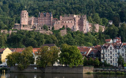 Cityscape  of Heidelberg in Germany Royalty Free Stock Image