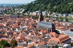 Cityscape  of Heidelberg in Germany Stock Image
