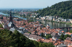 Cityscape  of Heidelberg in Germany Royalty Free Stock Photography