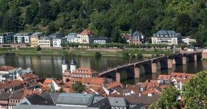 Cityscape  of Heidelberg in Germany Royalty Free Stock Photo