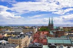 Cityscape of Helsinki, capital of Finland Royalty Free Stock Photography