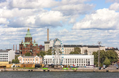 Cityscape of Helsinki, capital of Finland Stock Photo