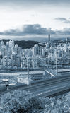 Cityscape of highway Royalty Free Stock Photography