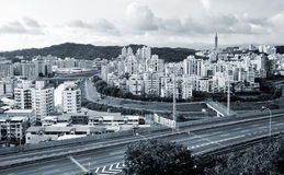 Cityscape of highway Royalty Free Stock Images