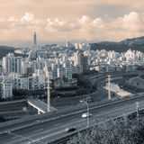 Cityscape of highway Royalty Free Stock Photo