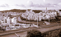 Cityscape of highway Stock Photography