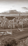 Cityscape of highway Stock Images