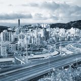 Cityscape of highway Royalty Free Stock Photos